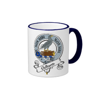 Insignia del clan de Clelland Tazas De Café