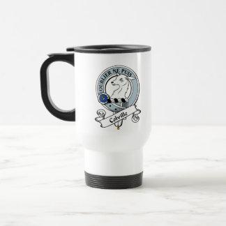 Insignia del clan de Colville Tazas De Café