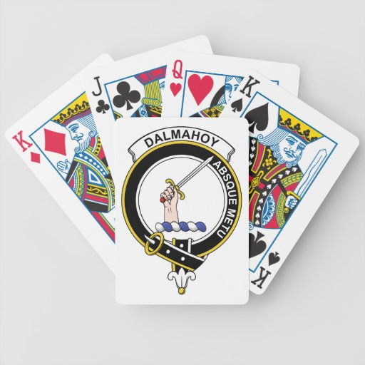 Insignia del clan de Dalmahoy Baraja Cartas De Poker