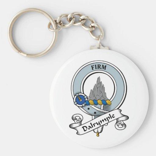Insignia del clan de Dalrymple Llavero Personalizado