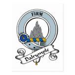 Insignia del clan de Dalrymple Postal