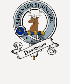 Insignia del clan de Davidson Camisetas