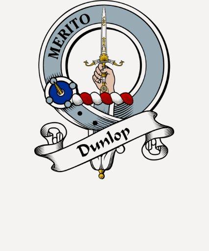 Insignia del clan de Dunlop Camisetas