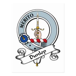 Insignia del clan de Dunlop Postal