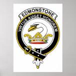Insignia del clan de Edmonstone Impresiones