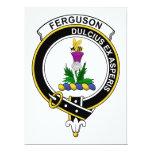 Insignia del clan de Ferguson Invitación 16,5 X 22,2 Cm