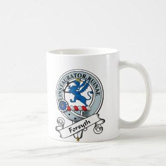 Insignia del clan de Forsyth Taza De Café