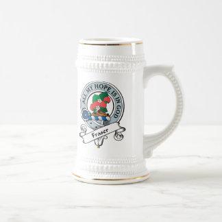 Insignia del clan de Fraser Tazas De Café