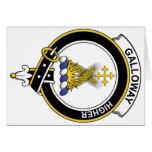 Insignia del clan de Galloway Tarjeton