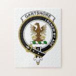 Insignia del clan de Gartshore Rompecabeza Con Fotos