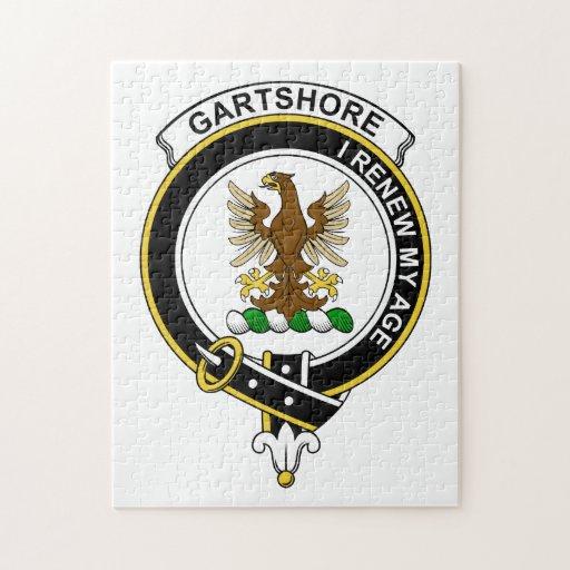 Insignia del clan de Gartshore Rompecabezas