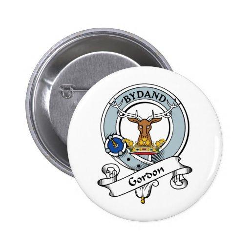 Insignia del clan de Gordon Pin Redondo 5 Cm