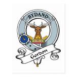 Insignia del clan de Gordon Postal