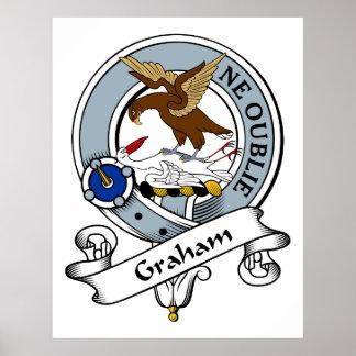 Insignia del clan de Graham Póster