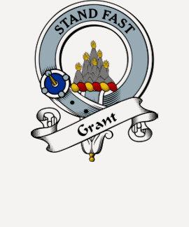 Insignia del clan de Grant Remeras