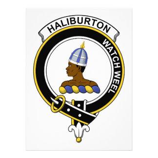 Insignia del clan de Haliburton Comunicados Personales