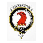 Insignia del clan de Halkerston Invitaciones Personales