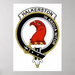 Insignia del clan de Halkerston Poster