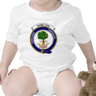 Insignia del clan de Hamilton Trajes De Bebé