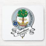 Insignia del clan de Hamilton Alfombrillas De Ratón