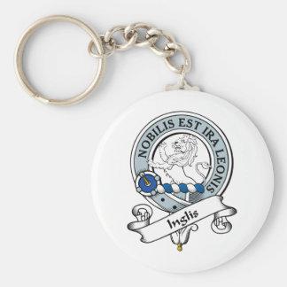 Insignia del clan de Inglis Llaveros Personalizados