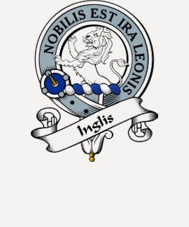 Insignia del clan de Inglis Camisetas
