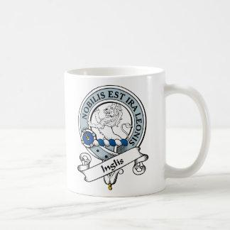 Insignia del clan de Inglis Taza De Café
