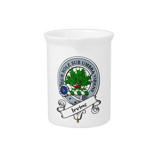 Insignia del clan de Irvine Jarrones