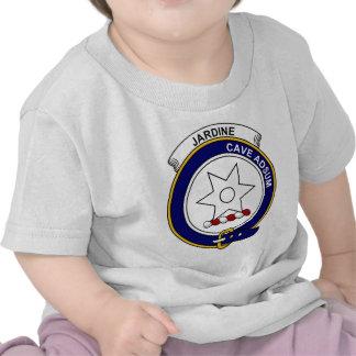 Insignia del clan de Jardine Camisetas