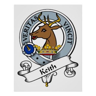 Insignia del clan de Keith Poster