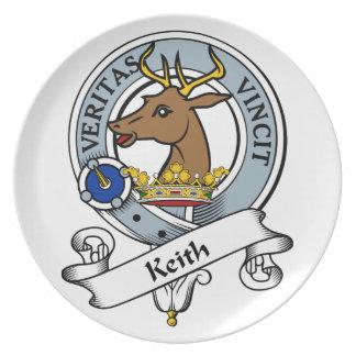 Insignia del clan de Keith Plato De Comida