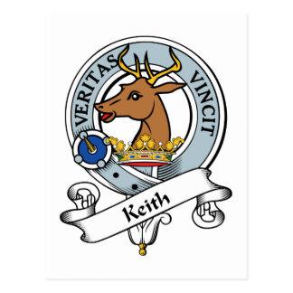Insignia del clan de Keith Postales