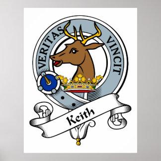 Insignia del clan de Keith Póster