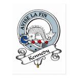 Insignia del clan de Kennedy Postal