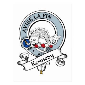 Insignia del clan de Kennedy Postales