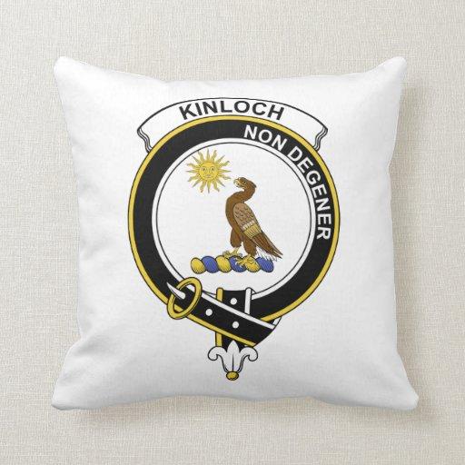 Insignia del clan de Kinloch Almohada