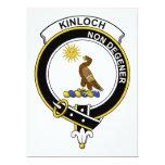 Insignia del clan de Kinloch Invitación