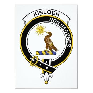 """Insignia del clan de Kinloch Invitación 6.5"""" X 8.75"""""""