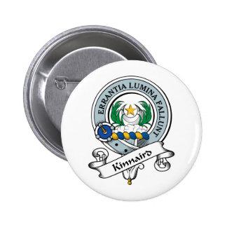 Insignia del clan de Kinnaird Pin Redondo De 2 Pulgadas