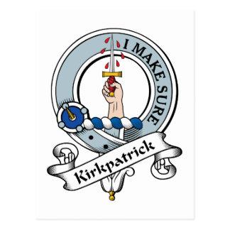 Insignia del clan de Kirkpatrick Tarjetas Postales