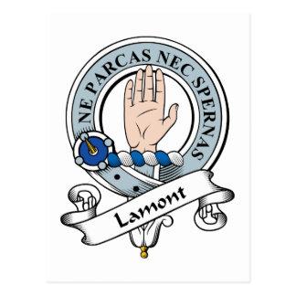 Insignia del clan de Lamont Postales