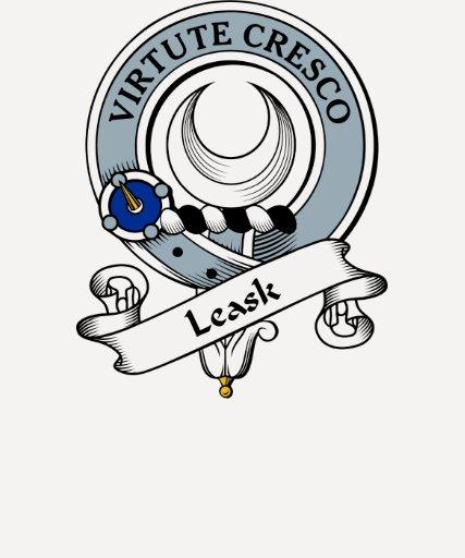 Insignia del clan de Leask Camisetas