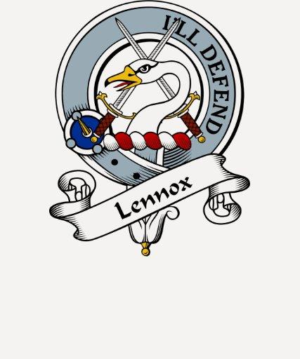 Insignia del clan de Lennox Camisetas