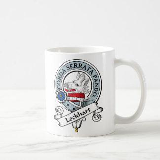 Insignia del clan de Lockhart Tazas De Café