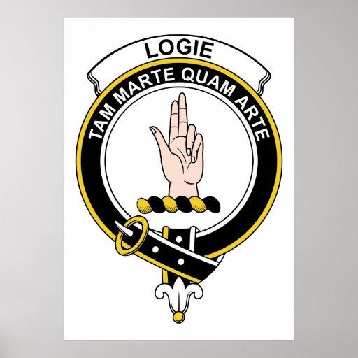 Insignia del clan de Logie Impresiones