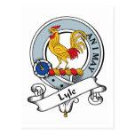 Insignia del clan de Lyle Postal