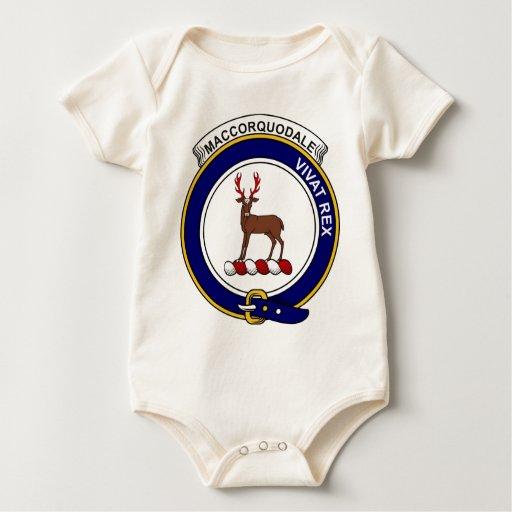 Insignia del clan de MacCorquodale Body De Bebé