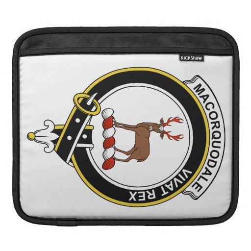 Insignia del clan de MacCorquodale Fundas Para iPads
