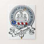 Insignia del clan de MacDonald Rompecabeza