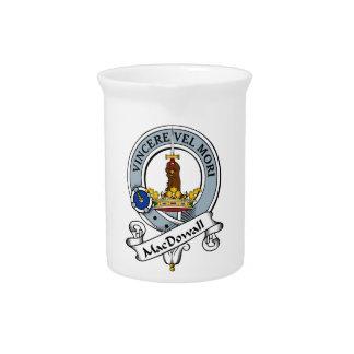 Insignia del clan de MacDowall Jarra